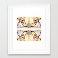 fairy Framed Art Prints featuring Fairy by CrismanArt