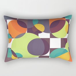 Searching for the moon Rectangular Pillow