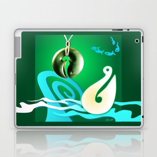 Go Fishing - Hi Ika Laptop & iPad Skin
