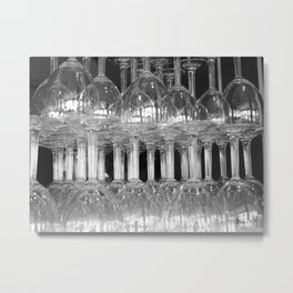 Who wants wine? Metal Print
