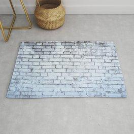 White Wall Rug