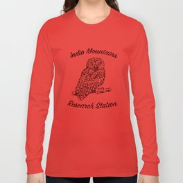 Indio Mountains Research Station - Elf Owl Long Sleeve T-shirt