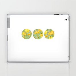 Small yellow flower Laptop & iPad Skin