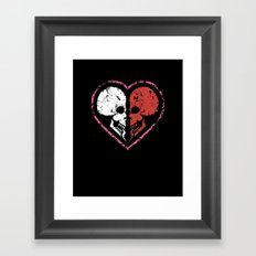 MADly in love with you  (Mutual Assured Destruction) Framed Art Print