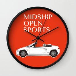 Midship Open Sports Wall Clock