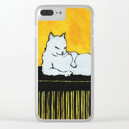Cult of Personality Clear iPhone Case