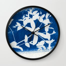 Herbal Sunprint #5 Wall Clock
