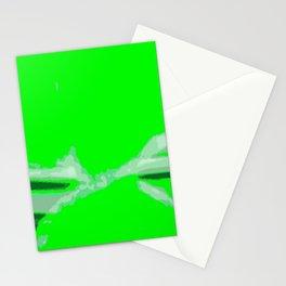 Green Twist Stationery Cards