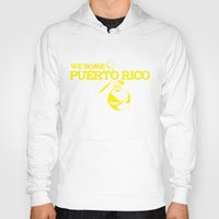 puerto rico Hoodies featuring We Bomb Puerto Rico by Grime Lab