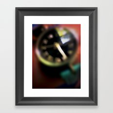 Blurred Time Framed Art Print
