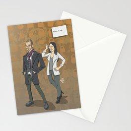 Sherlock and Joan Stationery Cards