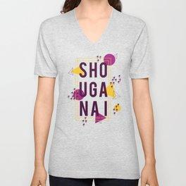 Shouganai Unisex V-Neck