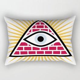 Freemasonic eye Rectangular Pillow
