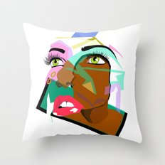 Anyone: I N  B L A C K  Throw Pillow