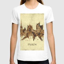 Turin Italy Cityscape T-shirt