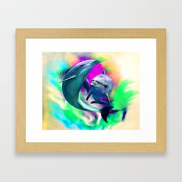Joyful Hearts Framed Art Print