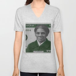 Proposed African American Icon Harriet Tubman Single U.S. Mint 20 Dollar bill Unisex V-Neck