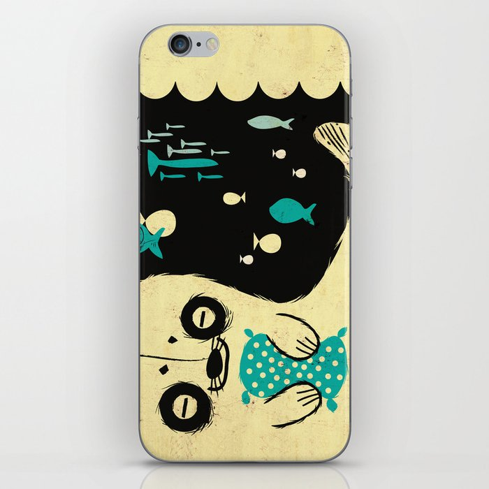 Panda Seal iPhone Skin