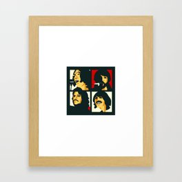 abbey road music Framed Art Print