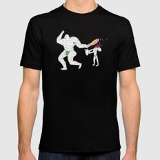 Hercules accidentally kills the boy who brought him a water jar Black MEDIUM Mens Fitted Tee