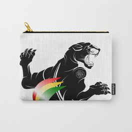 Panther Rastafarian Flag Carry-All Pouch