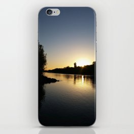 Tears into still Waters iPhone Skin