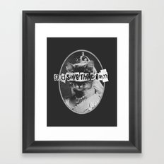 Never Mind The Furballs! Framed Art Print