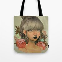 mini Tote Bags featuring ambrosial by loish