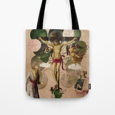 Saints Collection -- re-birth Tote Bag