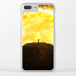 Rise of the Sun Clear iPhone Case