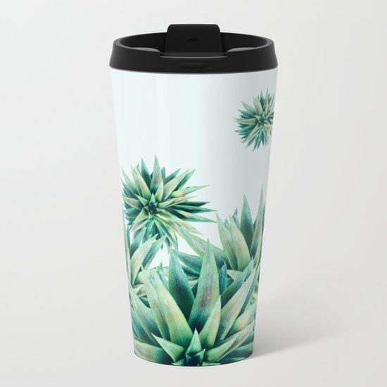 tropical stars  Metal Travel Mug