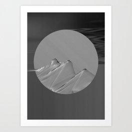 Strange Moons - 3 Art Print