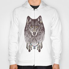 Wind Catcher Wolf Hoody