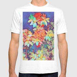 orange rhododendron T-shirt