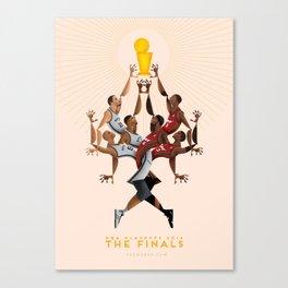 NBA PLAYOFFS 2014 - THE FINALS Canvas Print