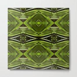 Dew Drop Jewels on Summer Green Grass Metal Print