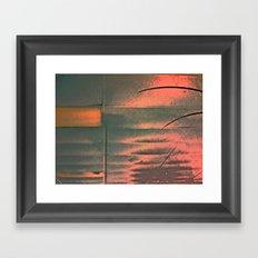 When Did U Forget? Framed Art Print
