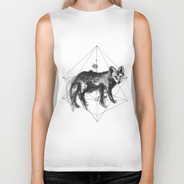 The fox's path Biker Tank