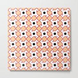 Antic pattern 10- from LBK ceramic colors Metal Print