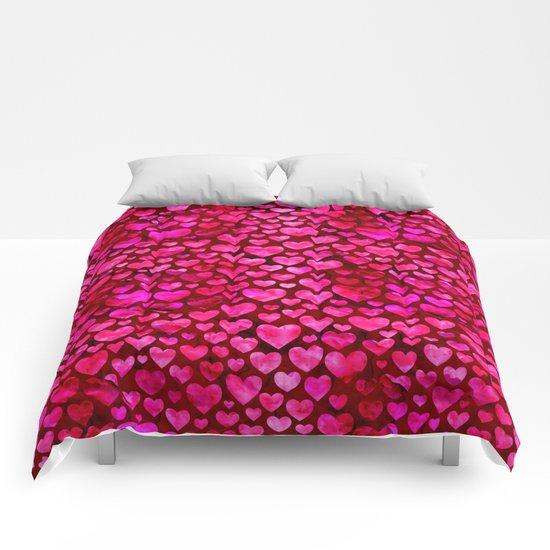 Heart Pattern 01 Comforters