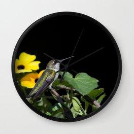 Green Garden Jewel Wall Clock