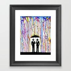 Just a Couple of Punks... Framed Art Print