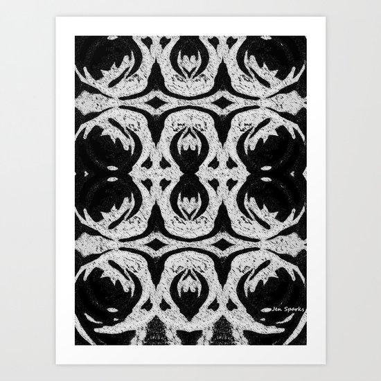 Pattern Print Art Print