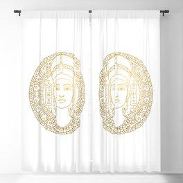 Nefertiti Mandala – Egypt Blackout Curtain