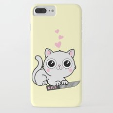 Kitty Hearts Kill - Cats Love Plotting iPhone 7 Plus Slim Case