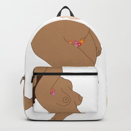 Digita illustration drawing girl power body positive Backpack