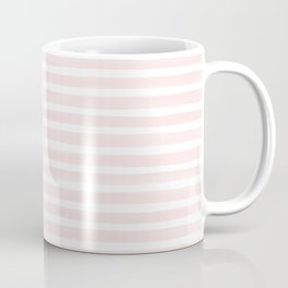 Stripes, Pink, Minimal, Scandinavian, Abstract, Pattern, Modern art Coffee Mug