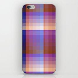 Complimentary Color Harmony ..Blue/orange iPhone Skin