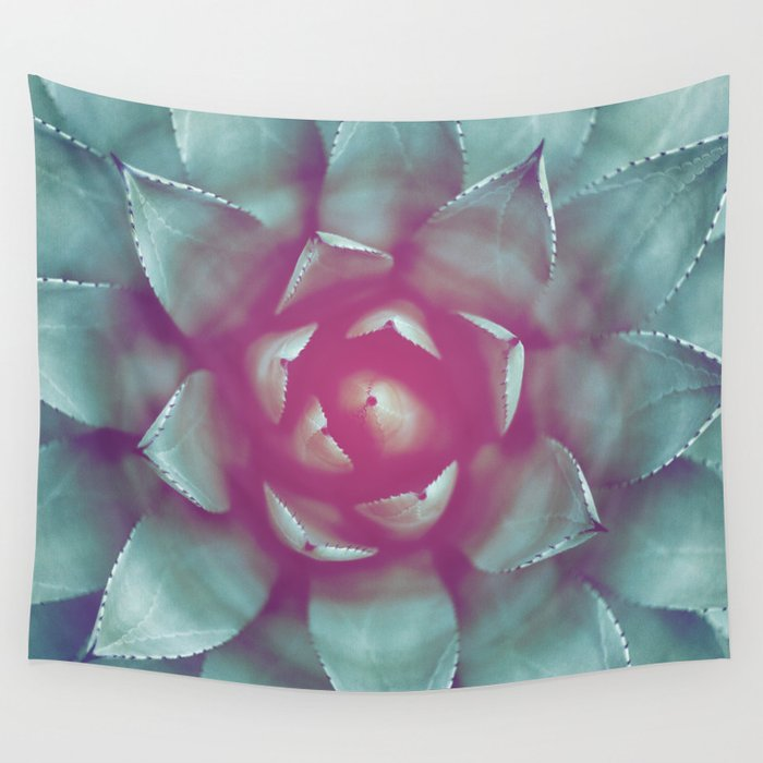 Little grey succulent Wall Tapestry