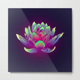 Lotus Vibes Metal Print